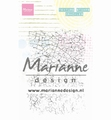 Marianne Design clear stamp Texture Stamps Crackles MM1628