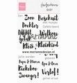 Marianne Design clear stamp Handgeschreven Baby CS1051