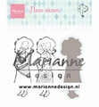 Marianne Design clear stamp Hetty's New Mom HT1651