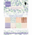 Marianne Design Pretty Papers French Antiques PK9167