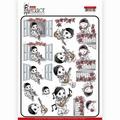 Yvonne Creations knipvel Petit Pierrot Serenade CD11466