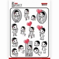 Yvonne Creations knipvel Petit Pierrot With Love CD11467