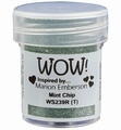 WOW Embossing Poeder Glitter Mint Chip WS239R