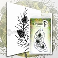 Lavinia Clear Stamp Fir Cone Branch LAV580