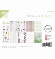 Joy! Crafts Papierset Lente met Michelle 6011/0646