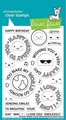 Lawn Fawn Clear Stamp Reveal Wheel Sentiments LF2225