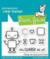 Lawn Fawn Clear Stamp Charge me Up LF1774