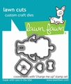 Lawn Fawn Snijmal Charge me Up LF1775