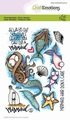 Craft Emotions Clear Stamp Mermaid 130501/1674