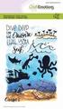 Craft Emotions Clear Stamp Carla Creaties Ocean 130501/1626