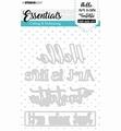 Studio Light Snijmal Essentials 266   STENCILSL266