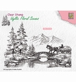 Nellie Snellen Clear Stamp Horse and Cart IFS022