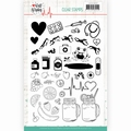 Jeanine's Art Clear Stamp Well Wishes JACS10031