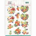 Jeanine's Art Knipvel Well Wishes Fruits CD11460