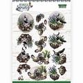 Amy Design knipvel Botanical Spring - Lapwing CD11471