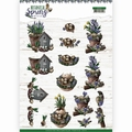 Amy Design knipvel Botanical Spring - Arrangement CD11470