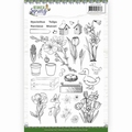 Amy Design Clear Stamp Botanical Spring ADCS10066