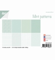 Joy! Crafts Papierset Mint Patterns 6011/0648