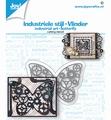 Joy Crafts Snijmal Industriële Vlinder 6002/1475
