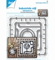 Joy Crafts Snijmal Industriële Frames 6002/1458