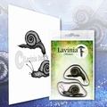 Lavinia Clear Stamp Snail Set LAV607