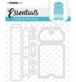Studio Light Snijmal Essentials 276   STENCILSL276
