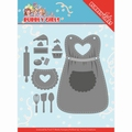 Yvonne Creations Die Bubbly Girls Party - Apron YCD10201