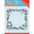 Yvonne Creations Die Bubbly Girls Party - Frame YCD10200