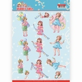 Yvonne Creations knipvel Bubbly Girls Partytime CD11478