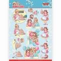 Yvonne Creations knipvel Bubbly Girls Baking CD11477