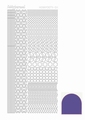 Hobbydots Sticker - Mirror - Purple STDM119