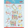Yvonne Creations knipvel Bubbly Girls Let's have Fun CD11476
