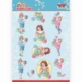 Yvonne Creations knipvel Bubbly Girls Decorating CD11475