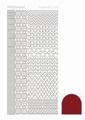 Hobbydots Sticker - Mirror - Red STDM124 per vel