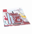 Marianne Design Creatables Guitar by Marleen LR0657