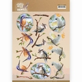 Amy Design knipvel Wild Animals Outback Parrot CD11486