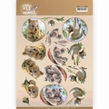 Amy Design knipvel Wild Animals Outback Koala CD11485