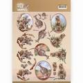 Amy Design knipvel Wild Animals Outback Kangaroo CD11483