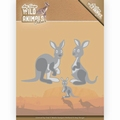 Amy Design Snijmal Wild Animals Outback Kangaroo ADD10209