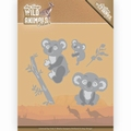 Amy Design Snijmal Wild Animals Outback Koala ADD10208