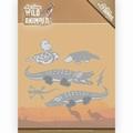 Amy Design Snijmal Wild Animals Outback Crocodile ADD10206
