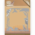 Amy Design Snijmal Wild Animals Outback Frame ADD10203