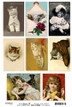Reprint Vintage Toppers Cats KP0017