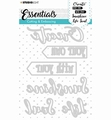 Studio Light Snijmal Essentials 284   STENCILSL284
