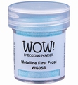 WOW Embossing Poeder Metalline First Frost  WG05R