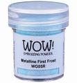 WOW Embossing Poeder Metalline First Frost  WG05R