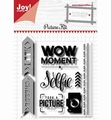 Joy! Crafts Clear Stamp+Snijmal Picture Kit 6004/0035