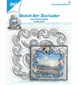 Joy Crafts Snijmal Sketch Art Zeekader 6002/1478