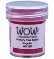 WOW Embossing Poeder Primary Colour Pink Robin WH26R