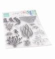 Marianne Design clear stamp Colorfull Silhouette CoralCS1062